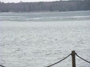 ice out on Gull Lake